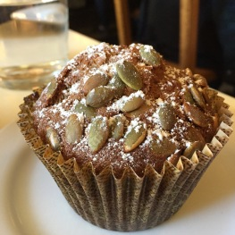 Pumpkin Chocolate Chip Muffin...$3