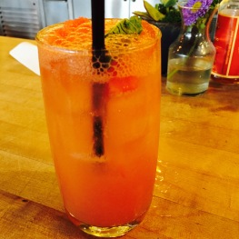 Sparkling Watermelon Soda: Watermelon / Lime / Cane Sugar / Sparkling Water...$4