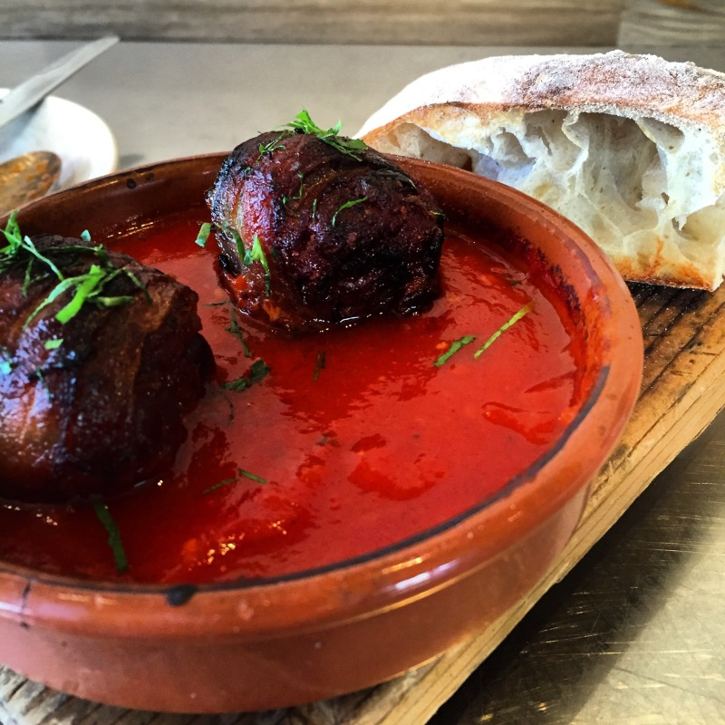 Chorizo-stuffed Medjool Dates