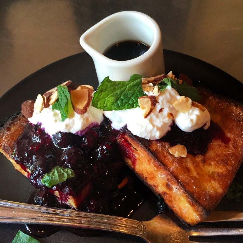 Wood Oven Baked French Toast