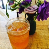 Arnold Palmer - Half Ice Tea / Half Lemonade Goes great with the Napoleon, Mixed Berry Crumble Tart or the Bavarian Fruit Cup