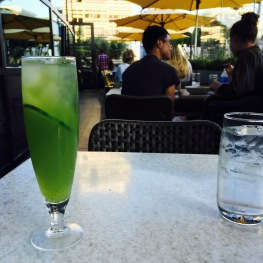 Cucumber Refresher: Cucumber & Honey Lemonade...$5.5