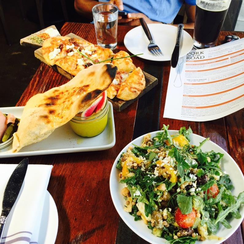 Cal Med Small Plate / Ras El Hangout Hummus Jar / Hot Date Flatbread