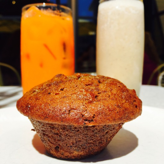 Banana, Expresso, Pistachio & Date Muffin... $3.5 - Bright Eyes: Pear, Ginger, Beet, Pineapple, Turmeric, Carrot $6 Weekend Warrior: Banana Flax, Almond Butter, Low-Fat Yogurt, Apple... $6