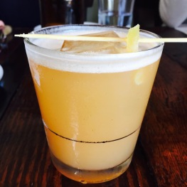 The Swayze: Scotch / Ginger / Lemon / Honey / Whiskey Love / Smoke...$10