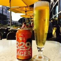 """""""329 Lager"""" - Golden Road...$5.5 ABV: 4.8%"""