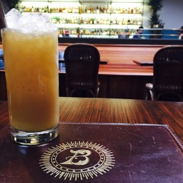 Local Anesthetic - Denizen 8yr rum / house-made coconut cream / orange & tangerine juice / pineapple / nutmeg... $10