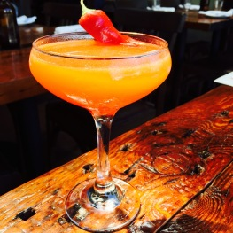 Enter The Dragon: Xicaru Mezcal / Lime / Chartreuse Turquoise / Luxardo / Red Hot Chili Peppers...$10