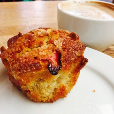 Strawberry Vanilla Pound Cake - Very similar in flavor and texture to the cornmeal cake. Just in more of a cupcake form that can be eaten with your hands and who doesn't like eating cake with their hands? Pound cake got it's name from the fact it was originally made with a pound each of flour, butter, sugar and eggs