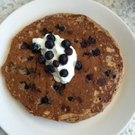 Quinoa Johnny Cakes - Blueberry / Maple Syrup & Greek Yogurt...$9.5 - I don't know who this Johnny guy is, but he makes pretty good pancakes. Greek yogurt instead of whipped cream, brilliant