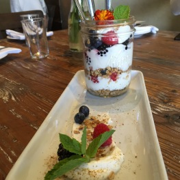 Acai Jar Parfait: Berries / Granola / House-Made Vanilla Yogurt...$10